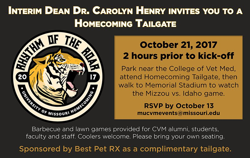 CVM Homecoming Tailgate Party – 2017