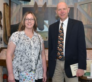 Marcy Hammerle nominated her former professor John Dodam for membership in the Missouri Veterinary Medical Foundation Hall of Fame.