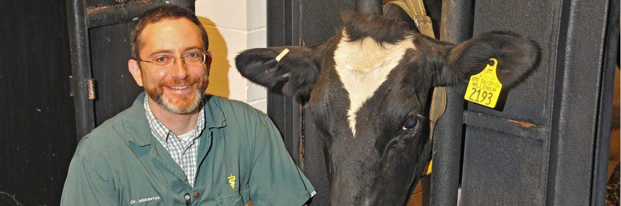 Alma Mater Names CVM's Middleton Distinguished Veterinary Alumnus