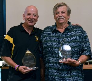Craig Franklin and Lonny Dixon each received Dean's Impact Awards.