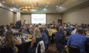 The Alumni Reunion Weekend kicked off with a banquet at Stoney Creek Hotel and Conference Center in Columbia.