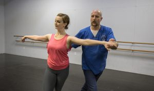 Schultz and Bell will perform a waltz and jive as part of a benefit for the Missouri Contemporary Ballet.
