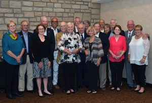 Members of the CVM Class of 1968 gathered at Stoney Creek Hotel and Conference Center for a reunion dinner.