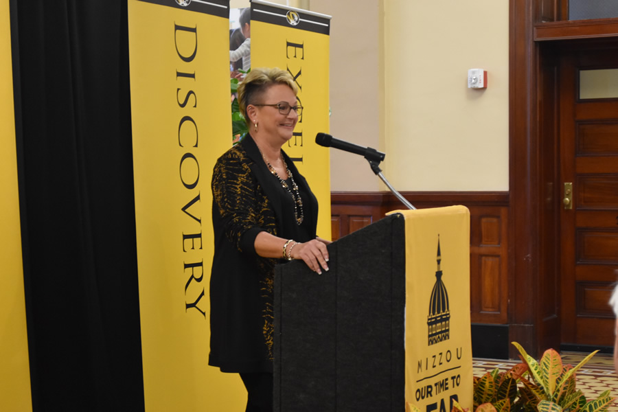 Carolyn Henry, dean of the College of Veterinary Medicine, said that the support of the Shelter Medicine program will help students gain hands on veterinary experience.