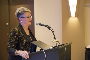 CVM Dean Carolyn Henry was inducted into the Missouri Veterinary Medical Foundation Hall of Fame on Jan. 25 during the Missouri Veterinary Medical Association annual convention.