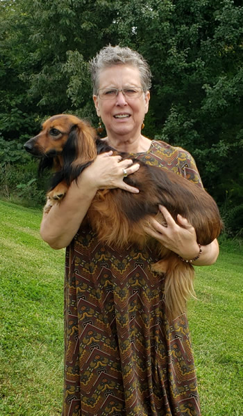 Gina Boxberger adopted another dachshund named Raina last September and also began fostering the breed.